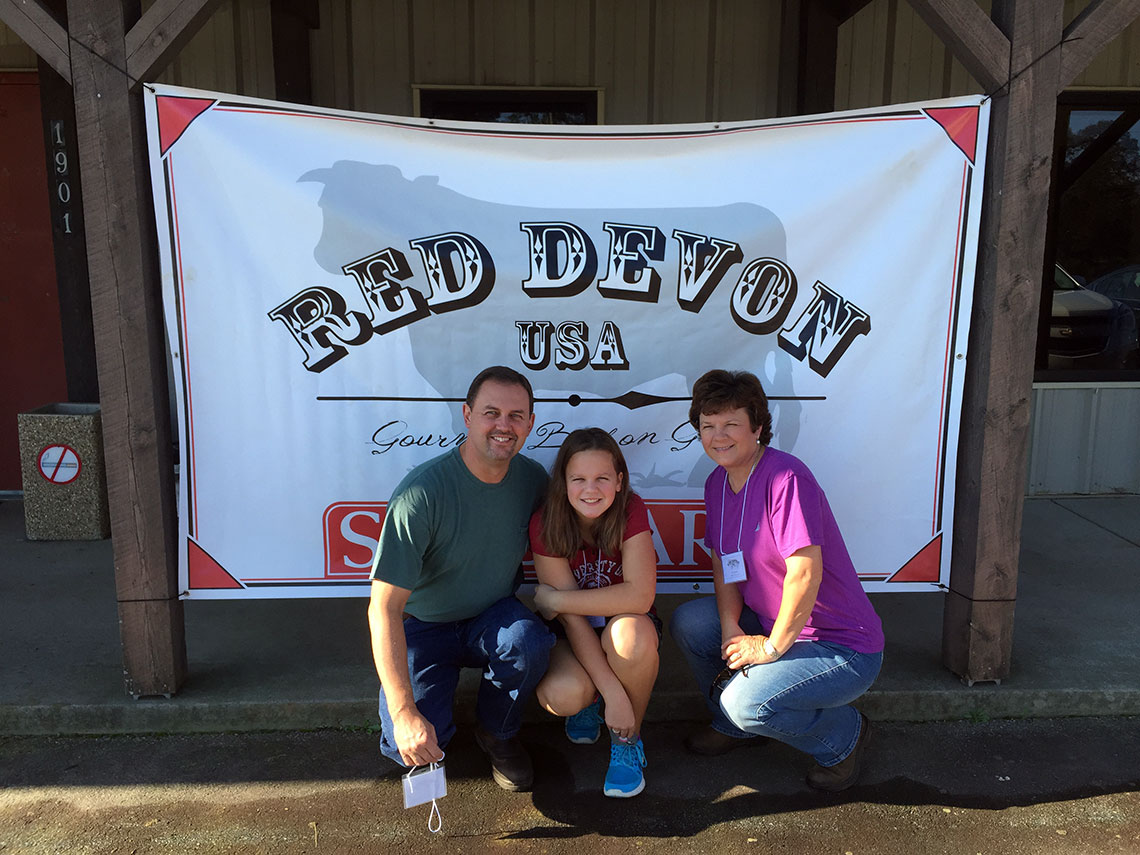 Brown Ranch at Red Devon Conference 2015